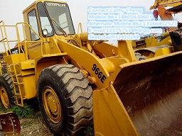 Used Cat 966e 3 Loader