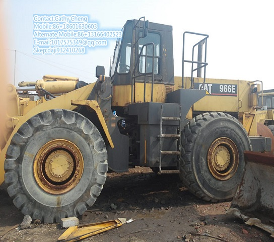 Used Cat 966e Loader