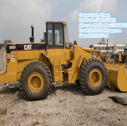 Used Cat 966f966f966 Loader