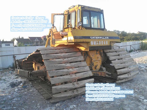 Used Cat D6h Lgp Bulldozer