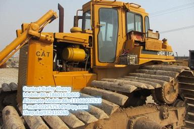 Used Cat D6hlgp 222 Bulldozer