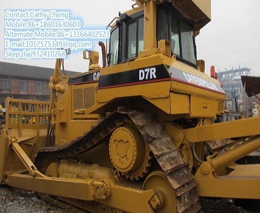 Used Cat D7r 3 Bulldozer