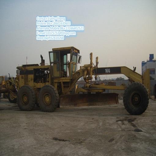 Used Cat16g Motor Grader