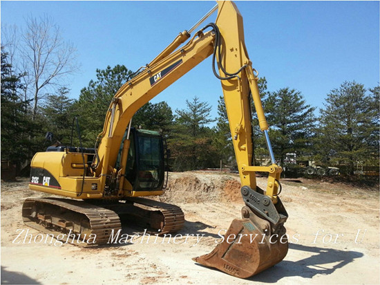 Used Caterpillar 312c Crawler Excavator