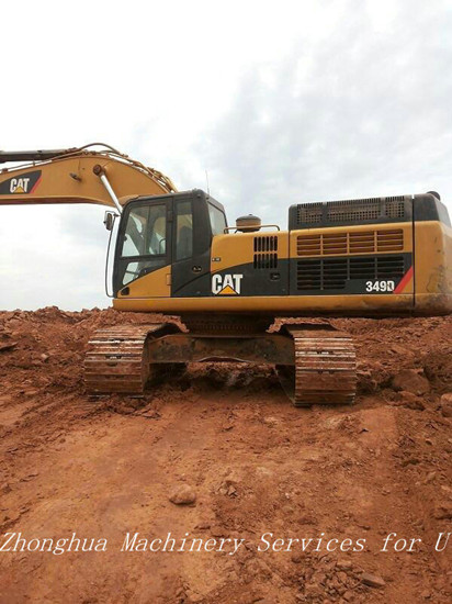 Used Caterpillar 349d Excavator With 3000 Working Hours