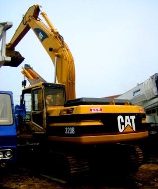 Used Construction Machines Excavators Cat 320b