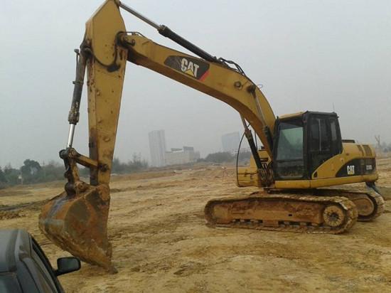 Used Crawler Caterpillar Excavator 320d