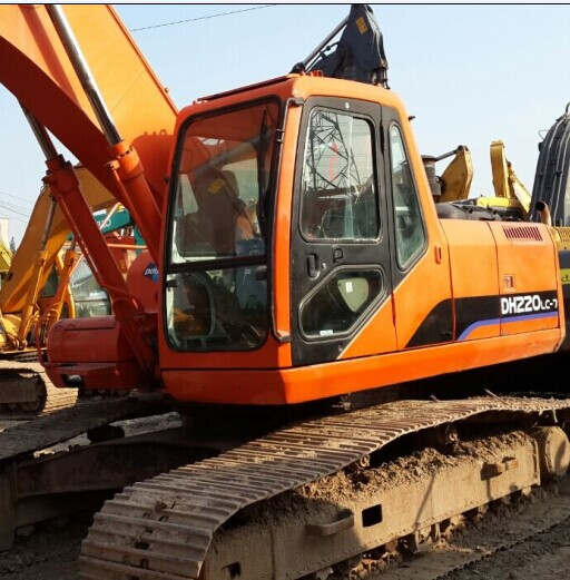 Used Crawler Excavator Daewoo Dh220lc V