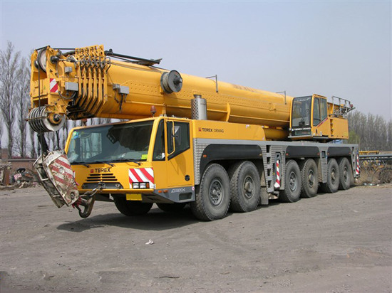 Used Demac 250 Ton Truck Crane