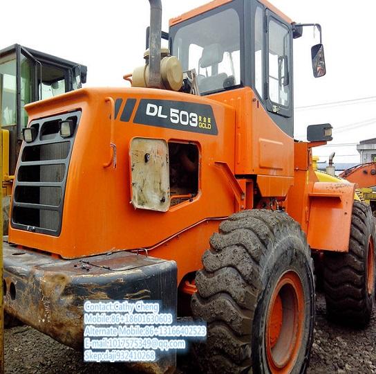 Used Doosan Dl503 Loader