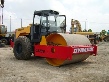 Used Dynapac Ca251d 3 Roller