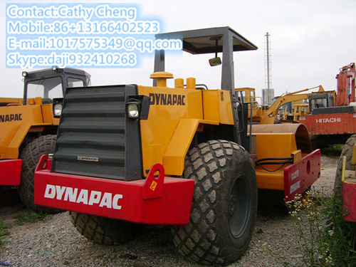 Used Dynapac Ca25d 1 Roller