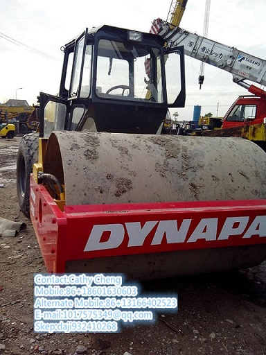 Used Dynapac Ca25d 2 Roller