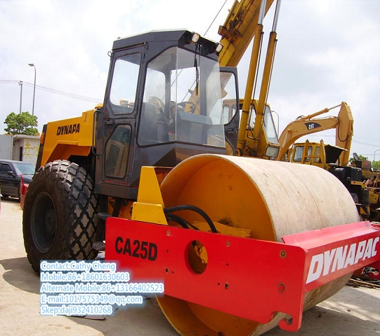 Used Dynapac Ca25d 2roller
