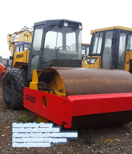 Used Dynapac Ca25d 3 Roller