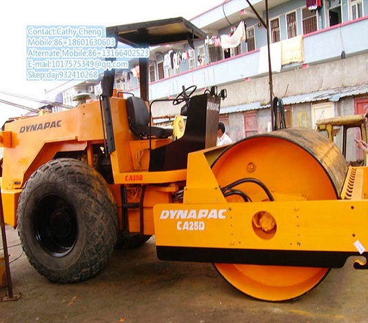 Used Dynapac Ca25d 5 Roller