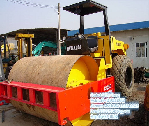 Used Dynapac Ca25d 6 Roller