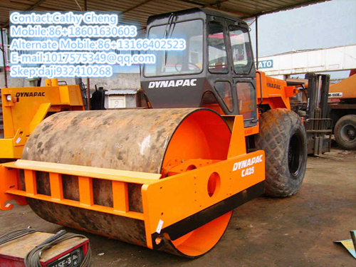 Used Dynapac Ca25d Roller