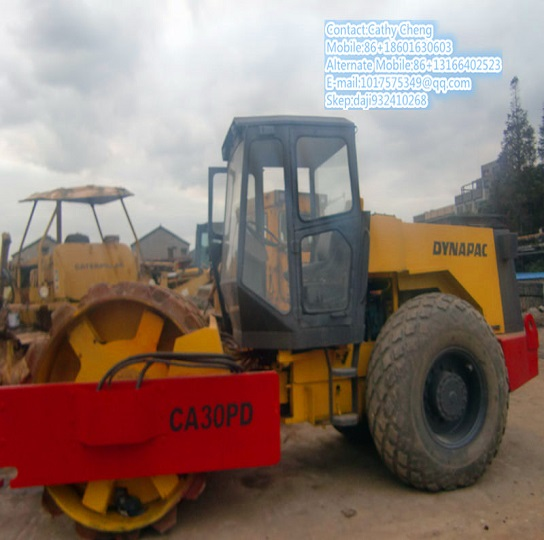 Used Dynapac Ca30d 2 Roller