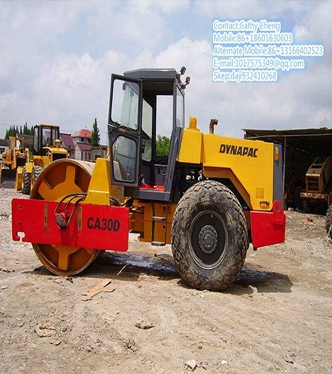 Used Dynapac Ca30d 2roller