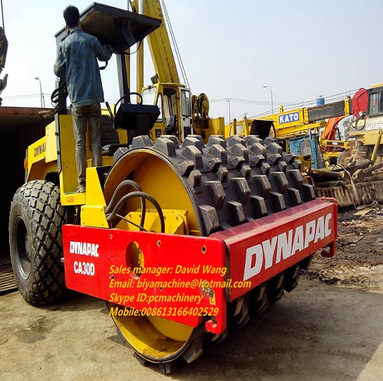 Used Dynapac Ca30d 3 Roller