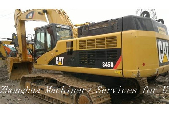 Used Excavator Caterpillar 345d