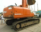 Used Excavator Daewoo Dh220lc V