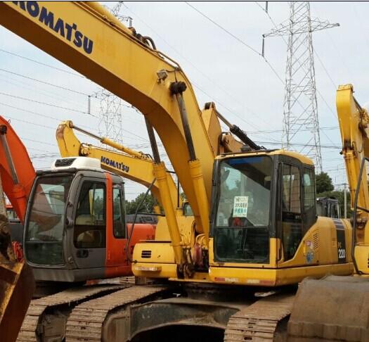 Used Excavator Komatsu Pc220 7