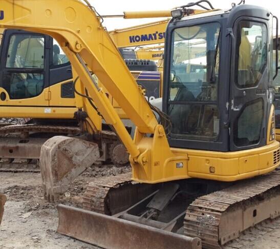 Used Excavator Komatsu Pc55mr 2