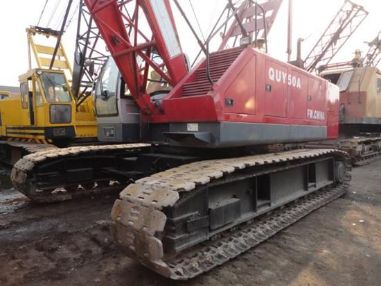 Used Fuwa Crawler Crane Quy50a