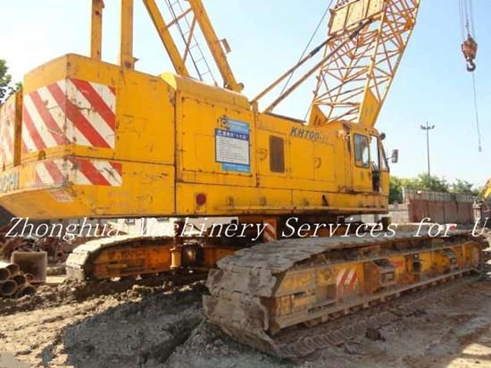 Used Hitachi Kh700 2 Crawler Crane 150 Ton