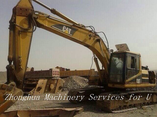 Used Hydraulic Caterpillar 320bl Excavator