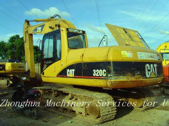 Used Hydraulic Caterpillar Excavator Cat 320c