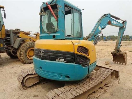 Used Hydraulic Kubota 155 Excavator