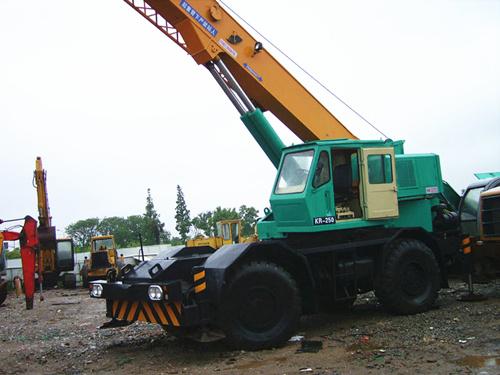 Used Kato Kr250 2 Crane