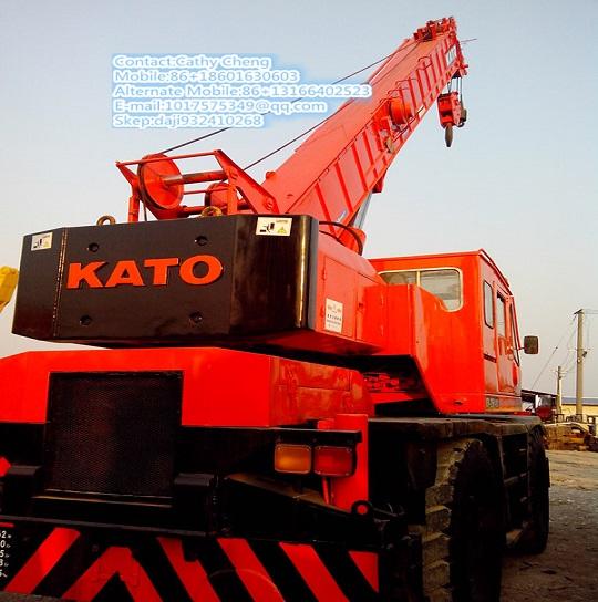 Used Kato Kr25h 3 Crane
