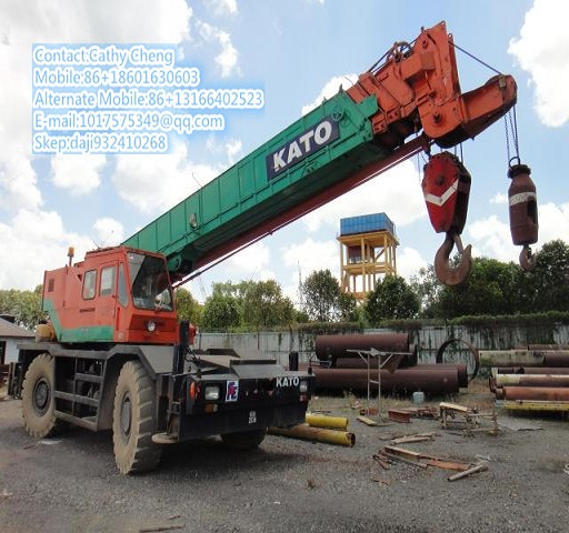 Used Kato Kr45h Crane