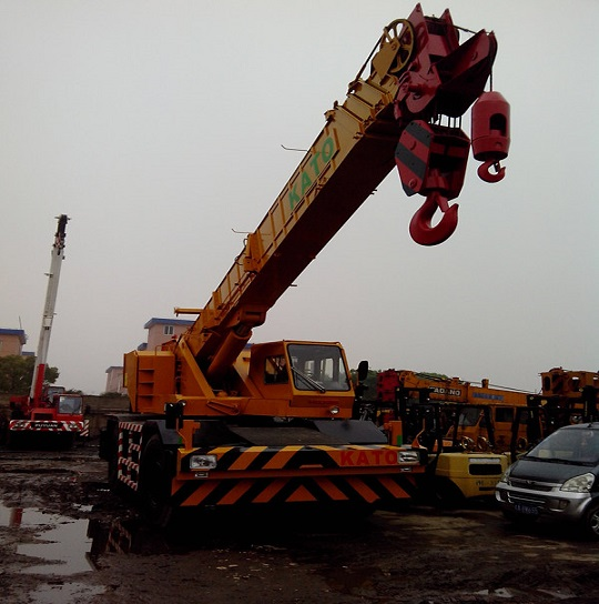 Used Kato Kr500 2 Crane