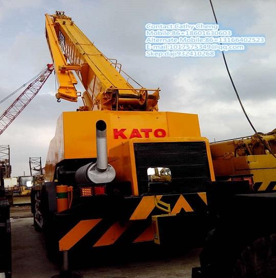 Used Kato Kr500 Crane