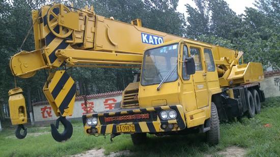 Used Kato Mobile Truck Crane Nk 250e
