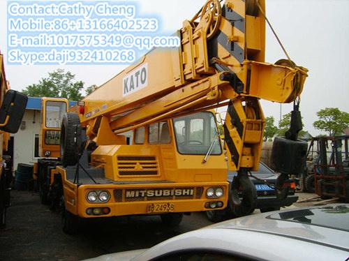 Used Kato Nk250 Crane