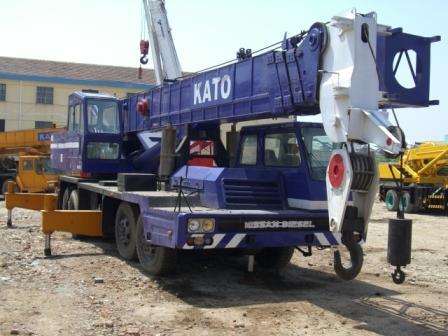Used Kato Nk500 Crane