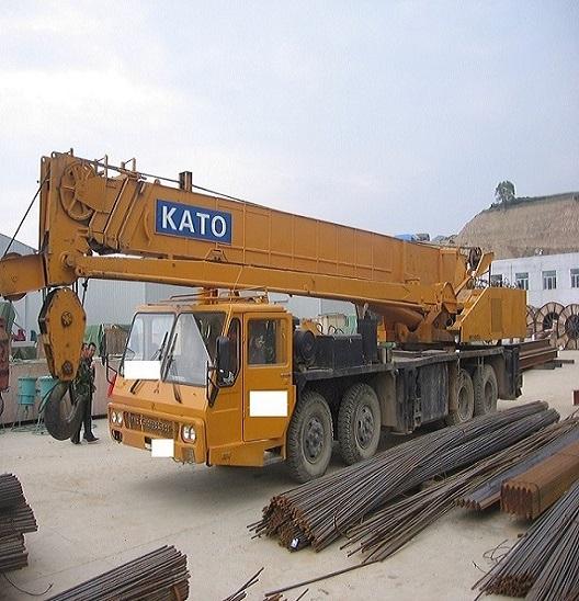Used Kato Nk500ev 3 Crane