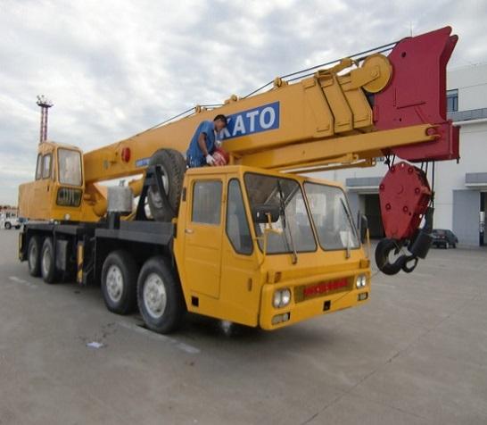 Used Kato Nk550e V Crane