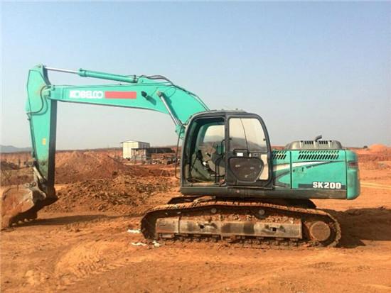 Used Kobelco Sk200 Hydraulic Excavator