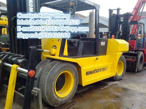 Used Komatsu Fd150 Forklift
