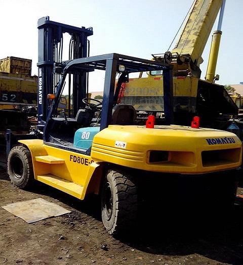 Used Komatsu Fd80 Forklift