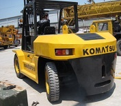 Used Komatsu Forklift For Sale 10 Ton