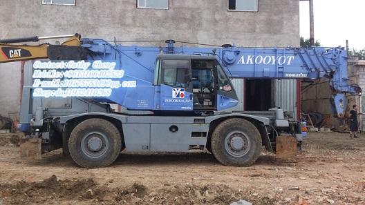 Used Komatsu Lw250 5 Crane
