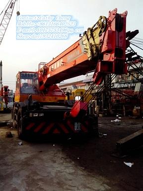 Used Komatsu Lw250m 2 Crane